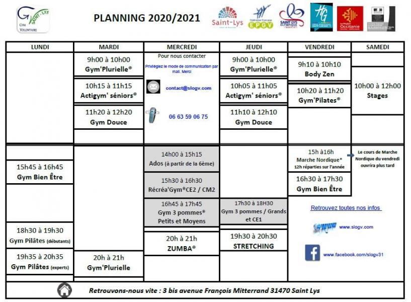 Planning 2020 2021 09oct2020