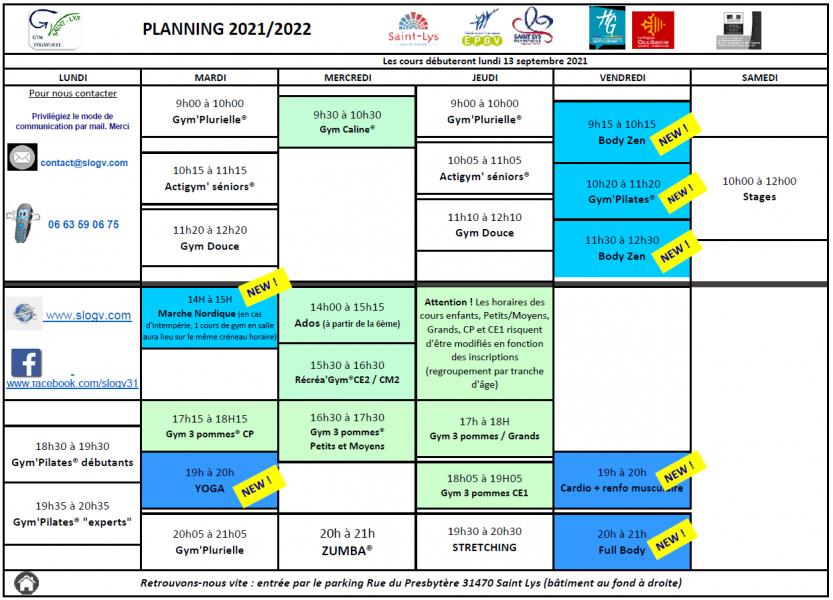 Planning horaire 2021 2022 v1